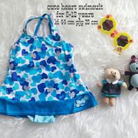 Jual PROMO baju renang anak cewek (cute heart swimsuit)  Murah