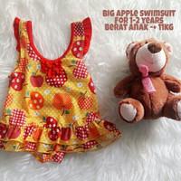 Jual PROMO Jual baju renang anak cewek (Big apple swimsuit)  Murah