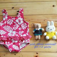 Jual PROMO Jual baju renang anak cewek (pink ethnic swimsuit) murah Murah
