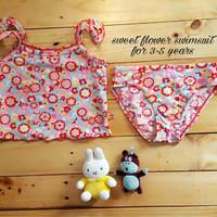 Jual PROMO Jual baju renang anak cewek (sweet flower swimsuit) murah Murah