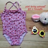 Jual PROMO jual baju renang anak cewek (pink berry swimsuit) Murah