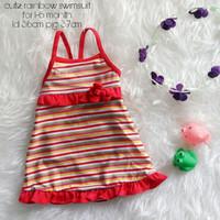 Jual PROMO baju renang anak cewek (cute rainbow swimsuit)  Murah
