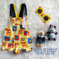 Jual PROMO baju renang anak cowok (beach swimsuit)  Murah