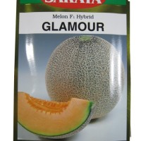 Jual Benih Pertanian Melon Kuning f1 Hybrid GLAMOUR SAKATA [10gram] Murah