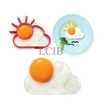 Jual Matahari awan cetakan omelette telur Sun clouds shape silicone mold -  Murah