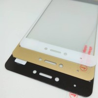 Jual TEMPERED GLASS 2.5D WARNA FULL COVER XIAOMI REDMI NOTE 4X 4 SNAPDRAGON Murah