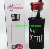 Jual 420ml My Bottle Gen 2 / Infused water / Botol Minum tempered Glass Murah