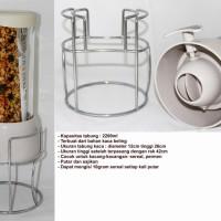 Jual Oxone Cereal Jar With Rack (OX-343) Murah