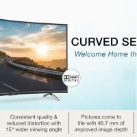 """TCL 48"""" LED FHD Smart Curved TV L48P1CFS Wireless Mini Keyboard"""