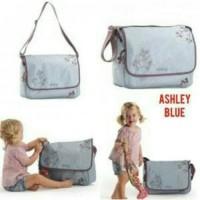 Jual Tas Okiedog ashley blue/ tas peralatan bayi /stroller Murah