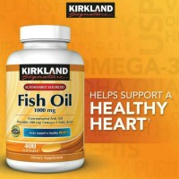Kirkland Signature Fish Oil Concentrate with Omega-3 Fatty Acids