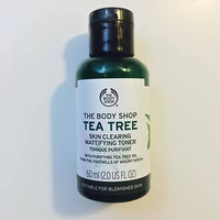 The Body Shop Skincare : TEA TREE MINI TONER 60ml (Praktis utk Tester)