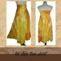 SALE !! Cuci Gudang Thai Skirt Tie Dye