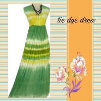 SALE !! Cuci Gudang Maxi Dress Tie dye