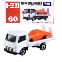 Isuzu ELF Vehicle Transporter white no 60 Tomica Reguler