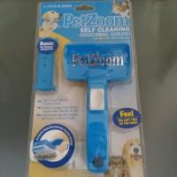 Jual OBRAL!   Pet Zoom Self Cleansing - Sisir Kucing Anjing murah Murah