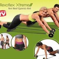 Jual NEW Revoflex Xtreme Alat Olahraga push up & sit up perut jadi ramping Murah