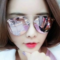 Jual kacamata fashion korea premium sunglasses prizm effect kc 99 pink Murah