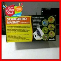 Songbird Magnet Bird Caller Mesin Nyanyian Burung Mudah Disetting