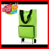 Jual Tas Belanja Lipat Beroda Serba Guna Tas Ramah Lingkungan Trolly Bag  Murah