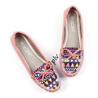 Jual Paling Murah Sepatu Flat Shoes Flatshoes Wanita Etnik Gratica RJ43 Sal Murah