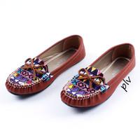 Jual Paling Murah Sepatu Flat Shoes Flatshoes Wanita Etnik Gratica RJ43 Bat Murah