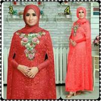 original Kaftan Syahrini 2 / dress muslimah premium butik / abaya