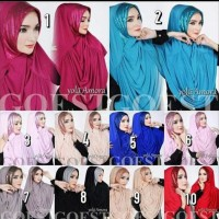 Hijab / Jilbab Yola Amora original / kerudung premium butik muslimah