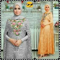 original Kaftan Syahrini / dress muslimah premium butik / kaftan