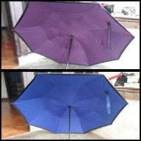 Jual NEW !! Payung Terbalik Kazbrella / Upside Down Umbrella Designed Japan Murah