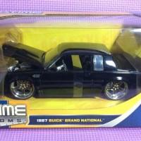 87' Buick Grand National (Black) Jada Bigtime Kustoms skala 1/24