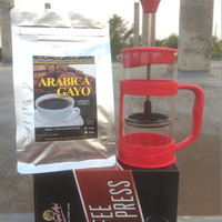 Jual Coffee Press plus Arabika Gayo 150g Murah