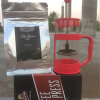 Jual Coffee Press plus Arabika Blend Gayo 150g Murah