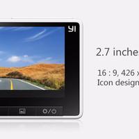 Jual Xiaomi Yi Smart Car Dash Cam Camera DVR MOBIL Wifi 1080P Gold Silver M Murah