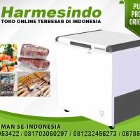 Chest Freezer Pembeku Makanan Pengawet Daging  EFL-2805 Box Ice Cream
