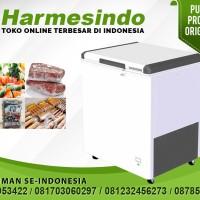 Chest Freezer Pembeku Makanan Pengawet Daging  EFL-2105 Box Ice Cream