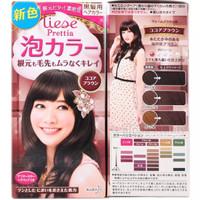 Prettia Liese Bubble Hair Cocoa Brown Pewarna Rambut