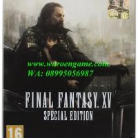 Jual PS4 Final Fantasy XV Special Steelbook Edition Day One (Reg 2)   Murah