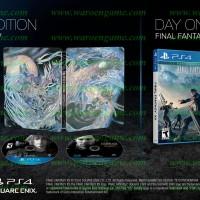 Jual PS4 Final Fantasy XV / FF 15 Deluxe Edition (R2 / Region 2 / English   Murah