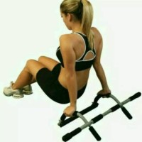 Alat Fitness Iron Gym - Total Upper Body Workout Bar Dsmr70