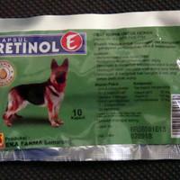 Jual Vitamin Anjing / Ekafarma Retinol E 10 kaps Murah