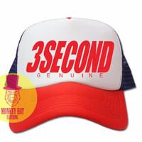 TOPI JARING TRUCKER HAT 3SECOND GENUINE 1403 - BIGHEL SHOP