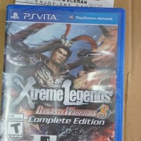 Dynasty Warriors 8 Xtreme Legends Complete Edition Reg All - PS Vita