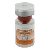 obat untuk ayam, kambing, sapi WORMECTIN 5 ml produksi medion
