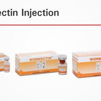 obat untuk ayam, kambing, sapi WORMECTIN 20 ml produksi medion