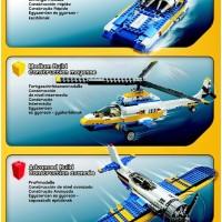 LEGO Creator 31011 Aviation Adventure RARE DISCONTINUED