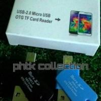 harga Otg Card Reader Memory Tf Micro Sd Tokopedia.com