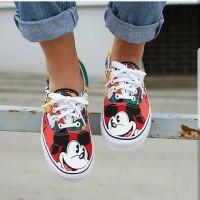 Vans Era Disney Mickey And friend Premium Original / sepatu keren