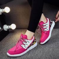 Jual Sepatu Cewek  Model   Kets Etnik BY01   Terbaru Murah