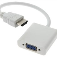 Converter HDMI to VGA - Untuk Laptop ke Proyektor